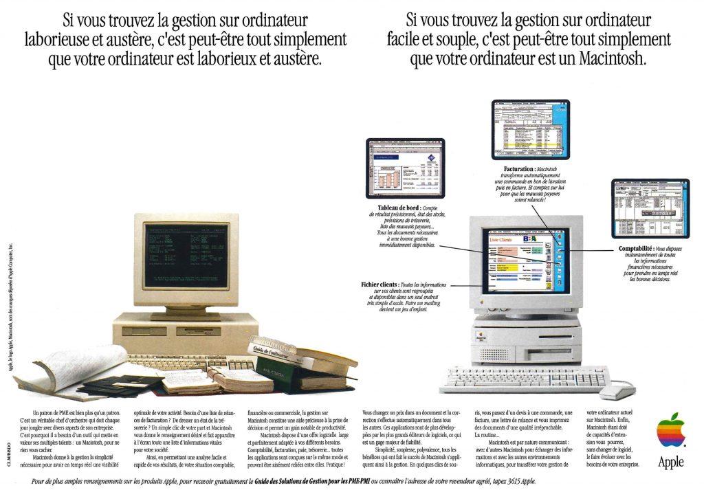 Publicité pour le Mac IIvx - La gestion sur Mac feefaa1ec405