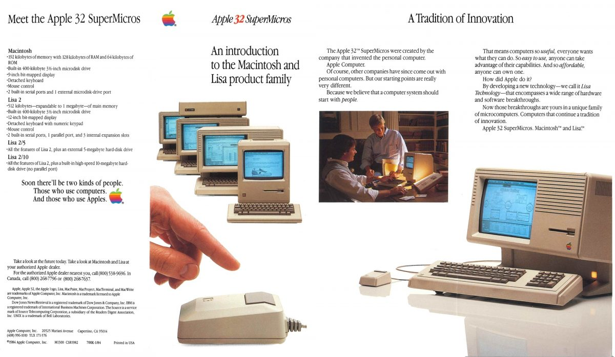 Brochure Apple 32 SuperMicros