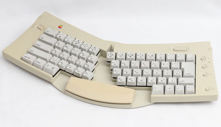 Apple ADB adjustable keyboard japanese on eBay