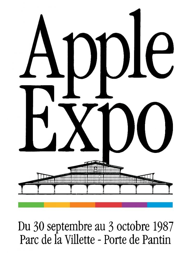 Le logo d'Apple Expo 1987