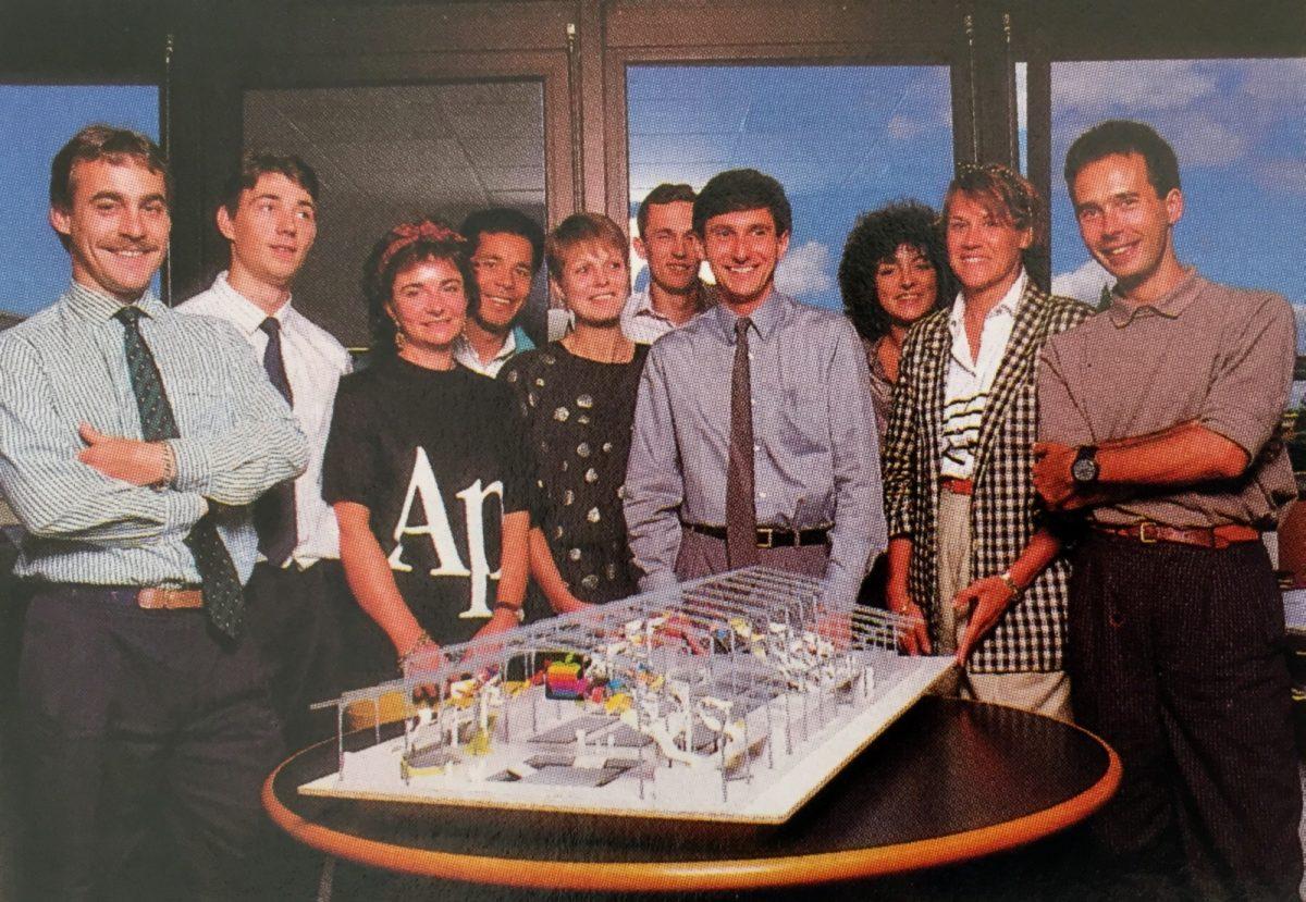 L'équipe d'Apple Expo 1988