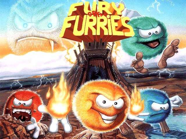 Fury of the furries écran de lancement