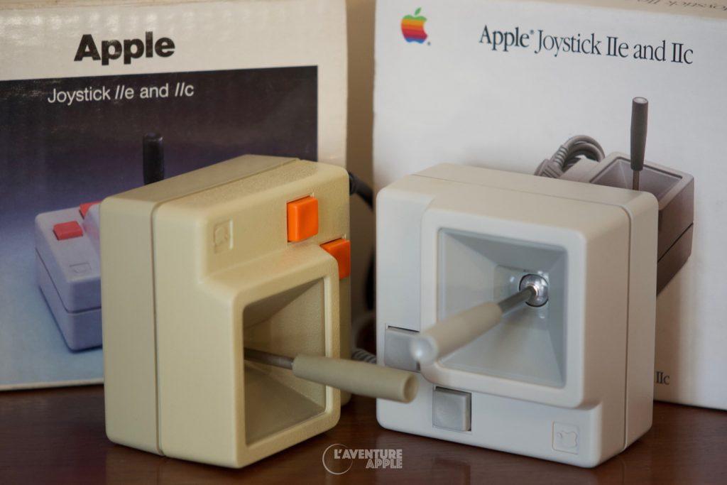 Joysticks Apple A2M2002 et A2M2012