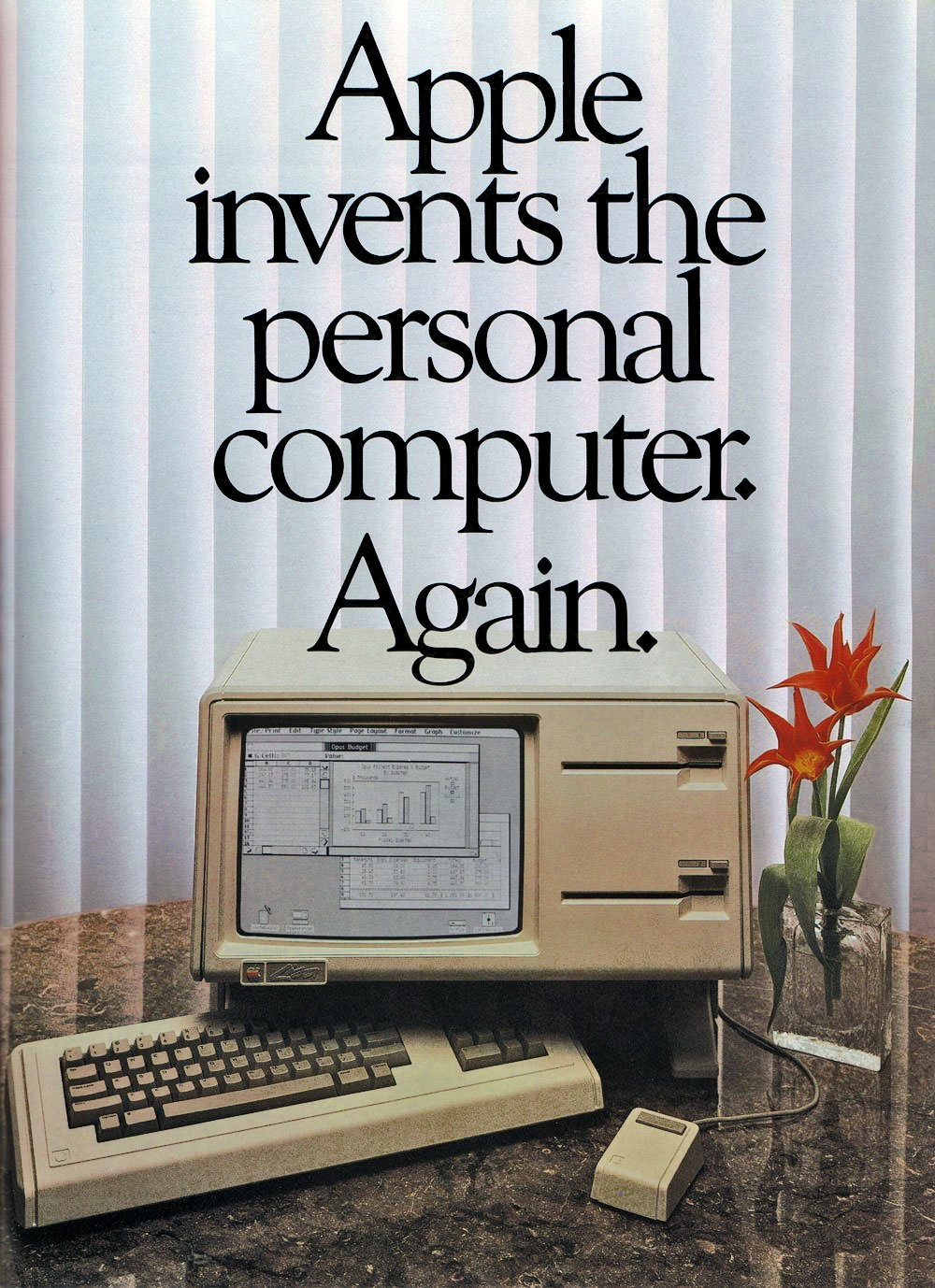 Apple 1983 ad for the Lisa