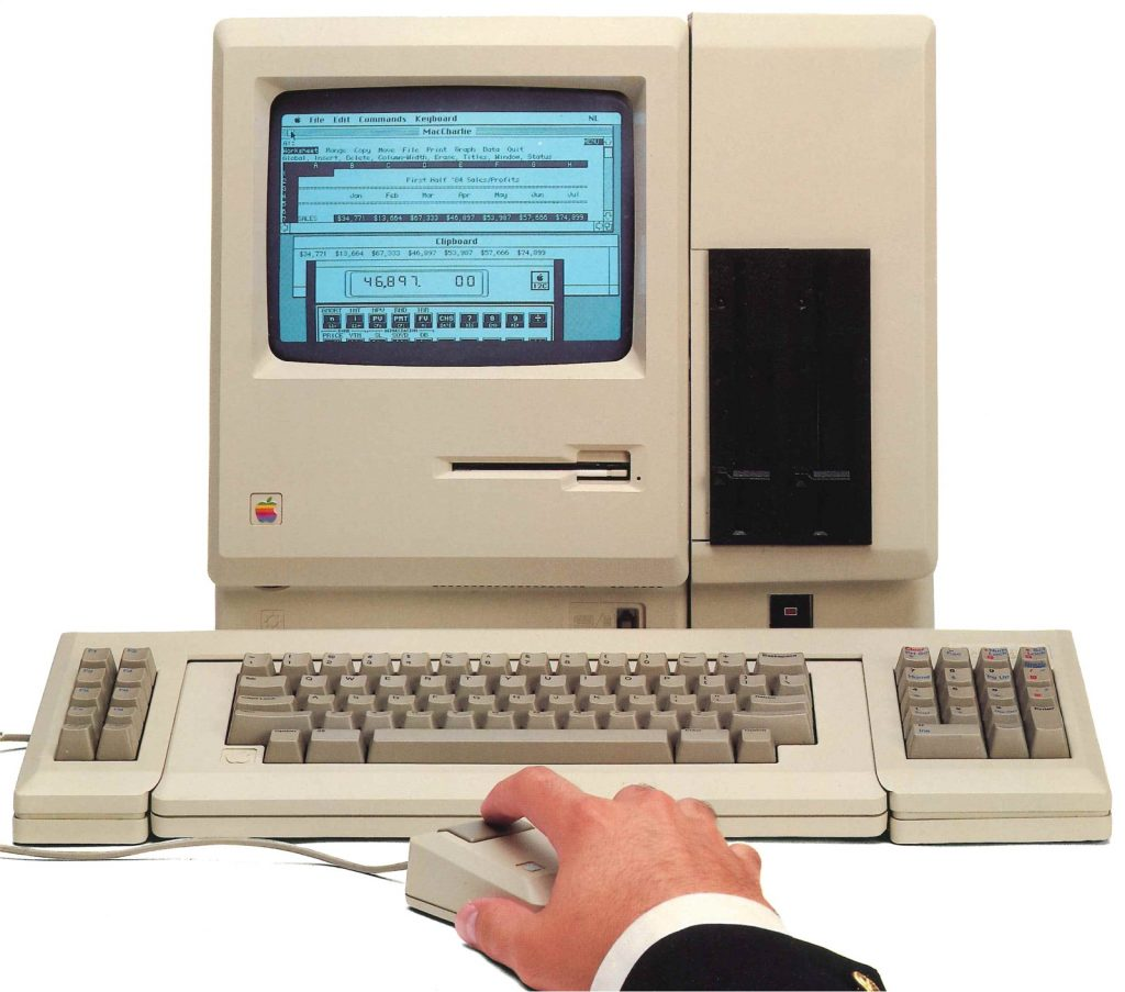MacCharlie sur un Macintosh