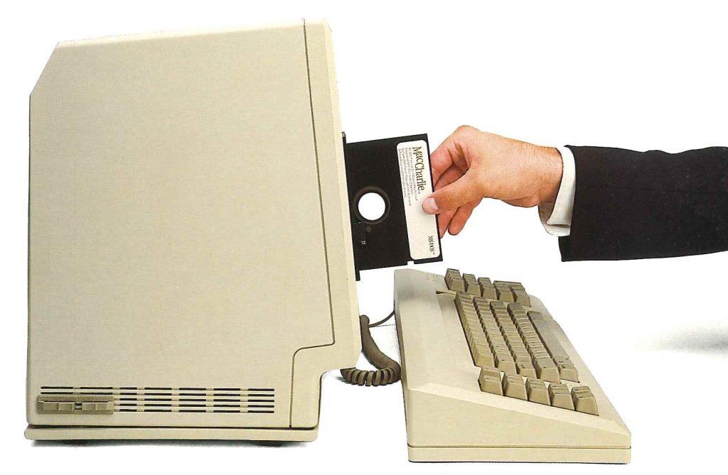 MacCharlie Floppy Drive