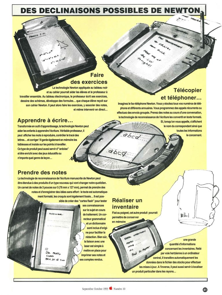 Apple Newton MessagePad projects