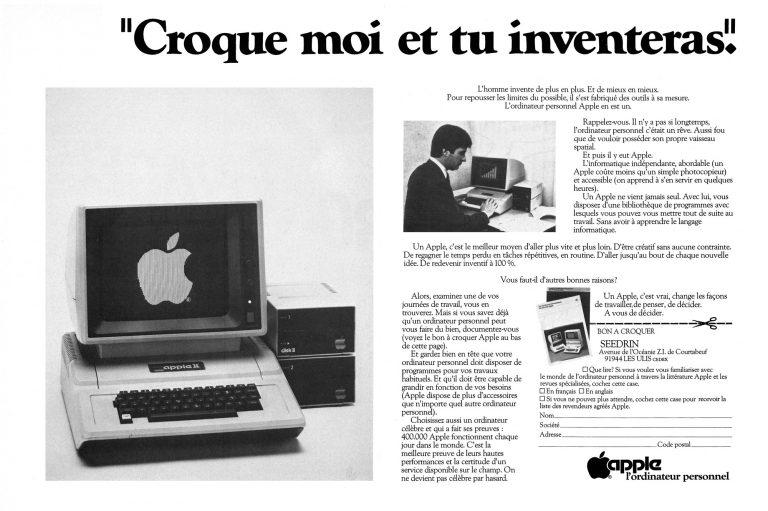 Publicité pour l'Apple II