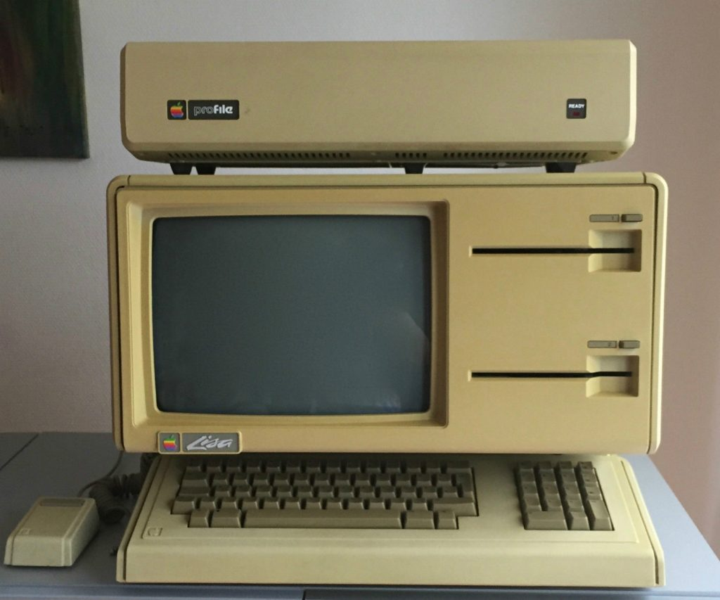 Apple Lisa 1 with Twiggy Drives