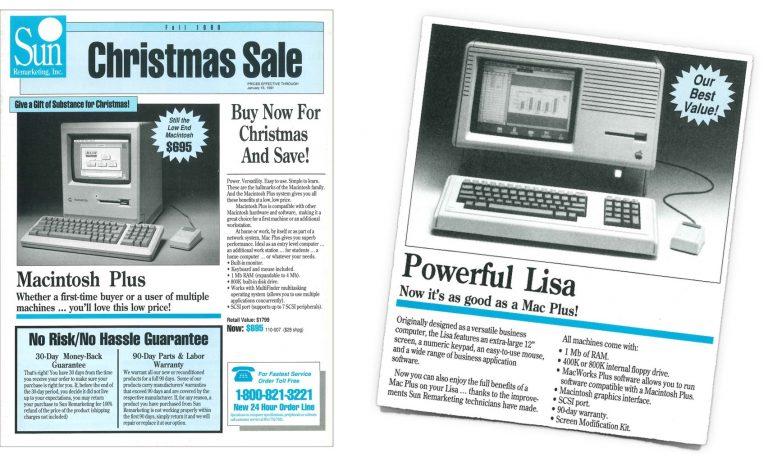 Sun Remarketing Fall Catalog 1990
