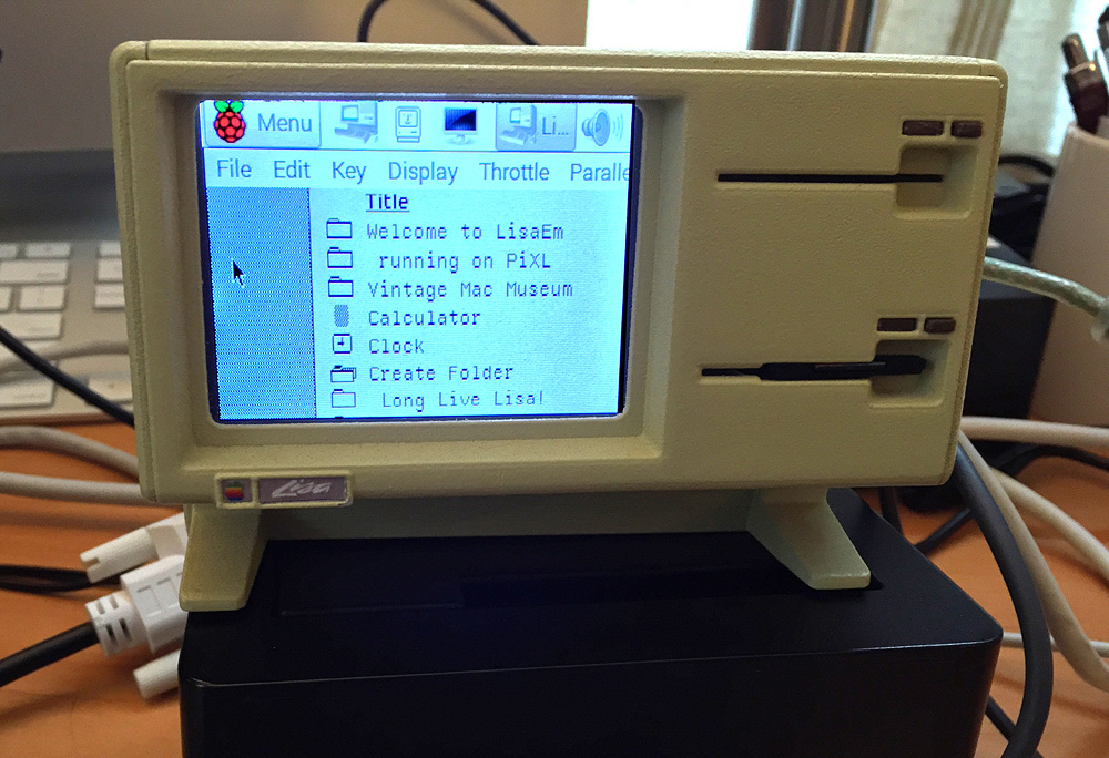 3D-printed Apple Lisa