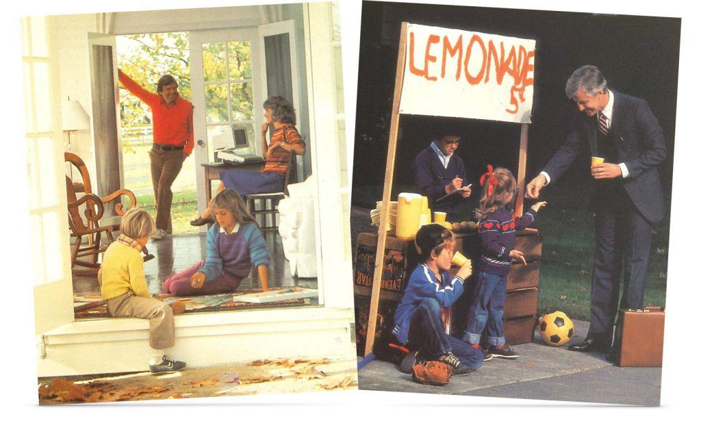 Brochure Apple IIc : American way of life