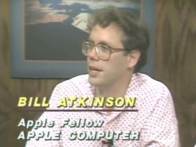 Bill Atkinson en 1987