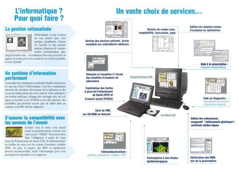 Brochure le Macintosh du Médecin
