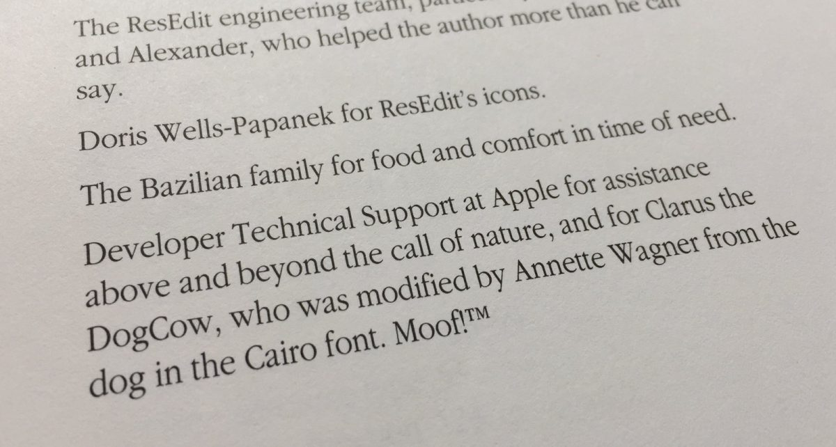 Thanks to Clarus in the ResEdit Reference Book