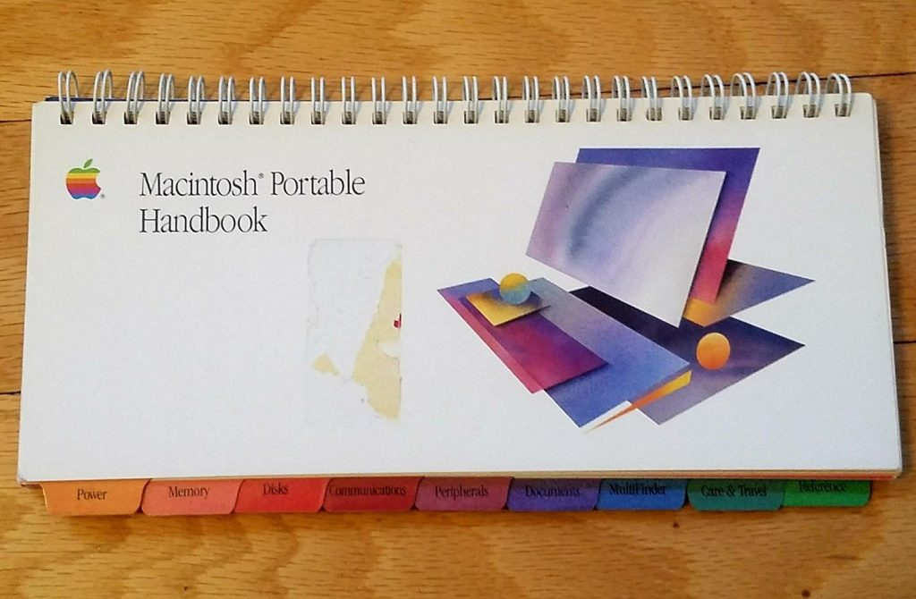 Le livret du Macintosh Portable