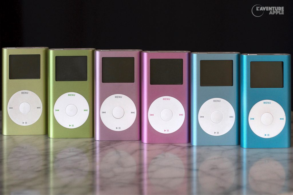 iPod mini 1G et 2G