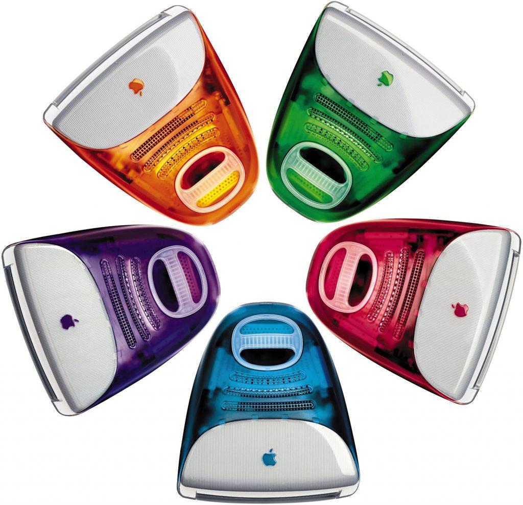 Les iMac colorés