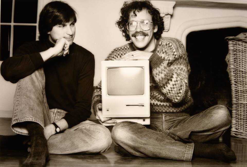 Steve Jobs et Bill Atkinson