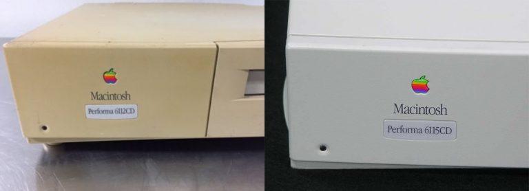 Performa 6112CD et 6115CD labels