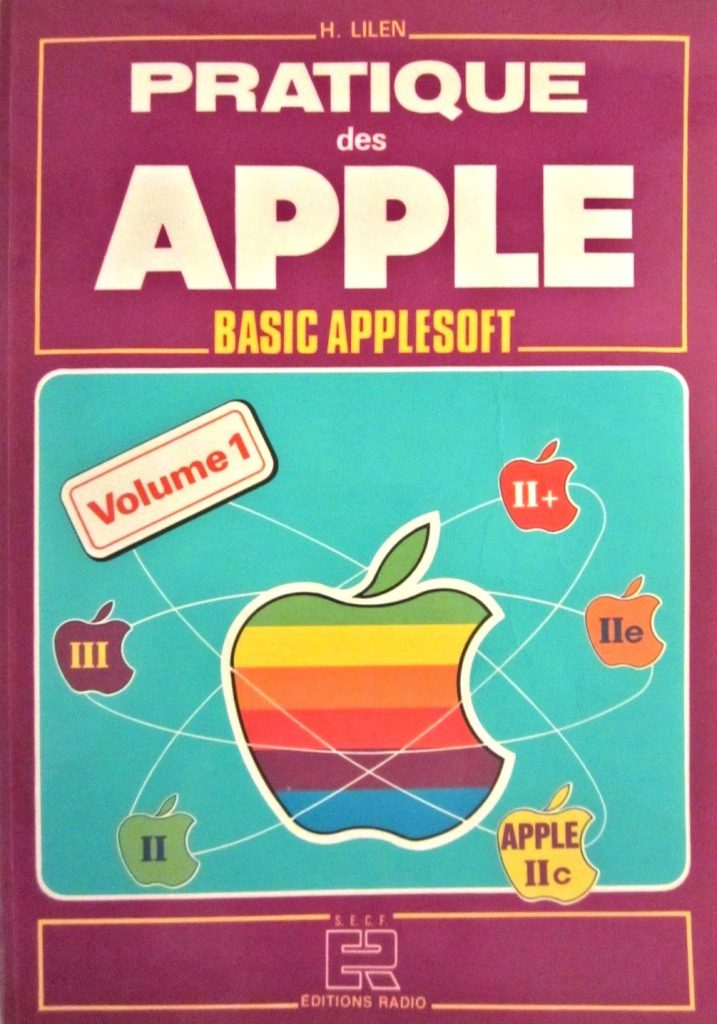 Livre Pratique des Apple Basic Applesoft - Apple logo fail