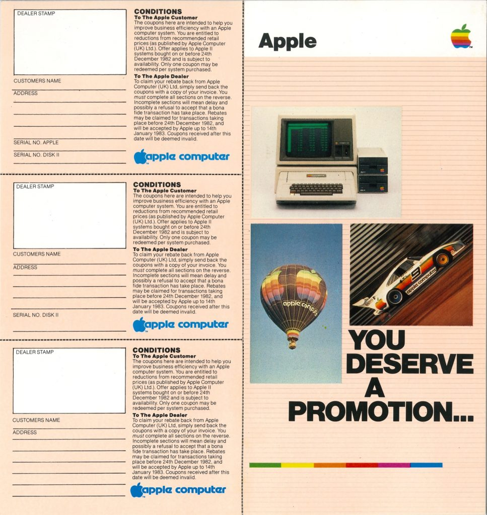 Apple : you deserve a promotion