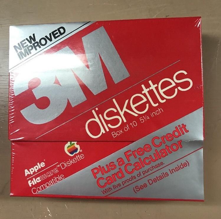 Disquettes FileWare par 3M sur eBay