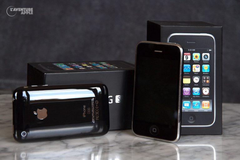 iPhone 3GS et boîtes