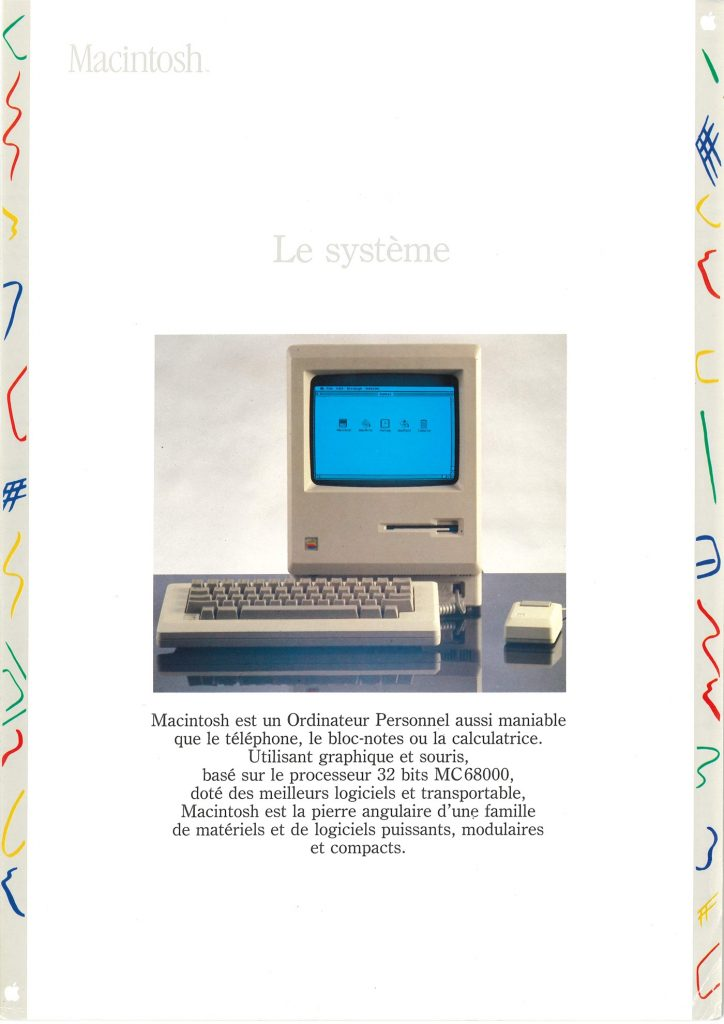 Brochure Macintosh SEEDRIN : le système