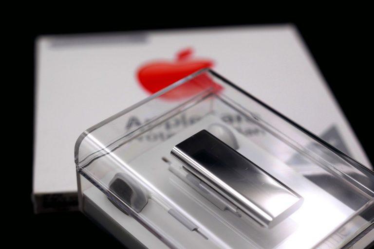 iPod shuffle stainless steel