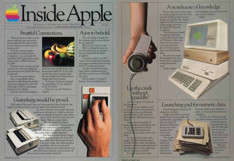 Inside Apple, publicité de 1983