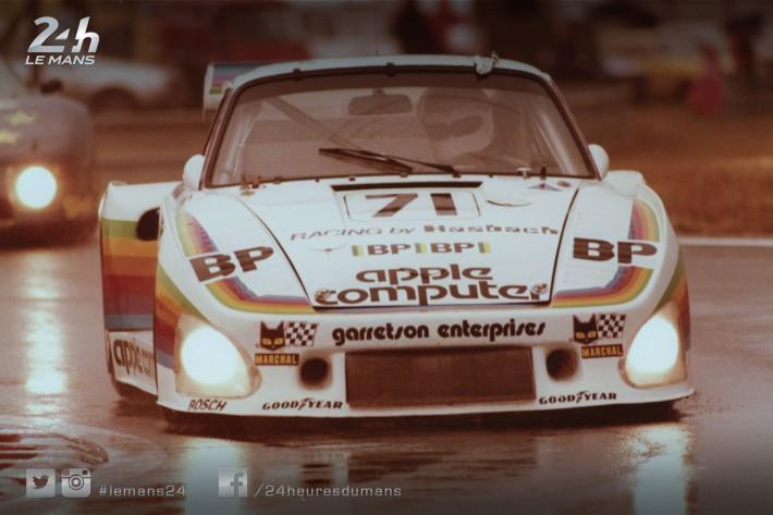 La Porsche 935 d'Apple