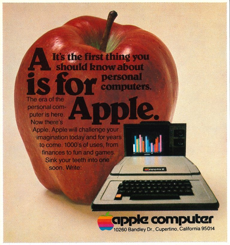A is for Apple, ad