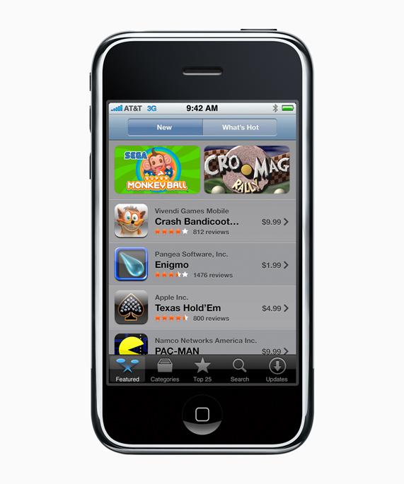 Le premier App Store