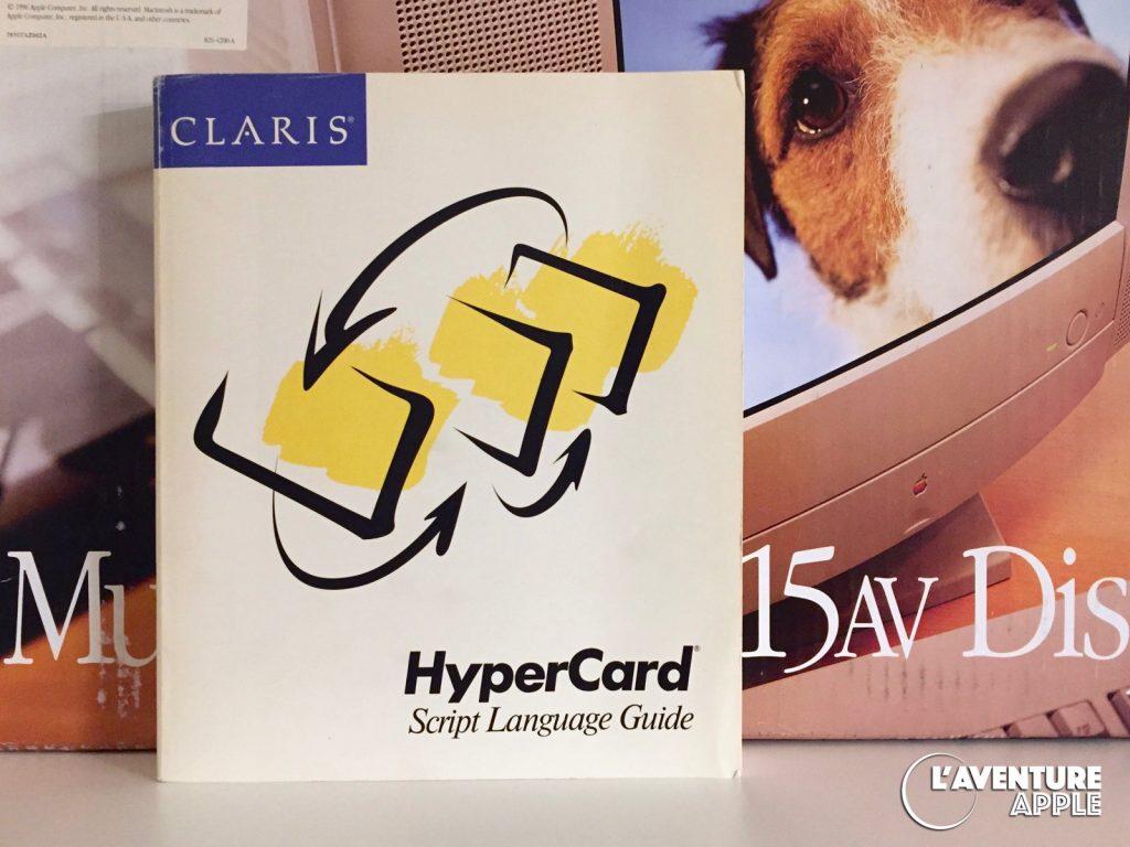 Manuel Script Language Guide Hypercard par Claris