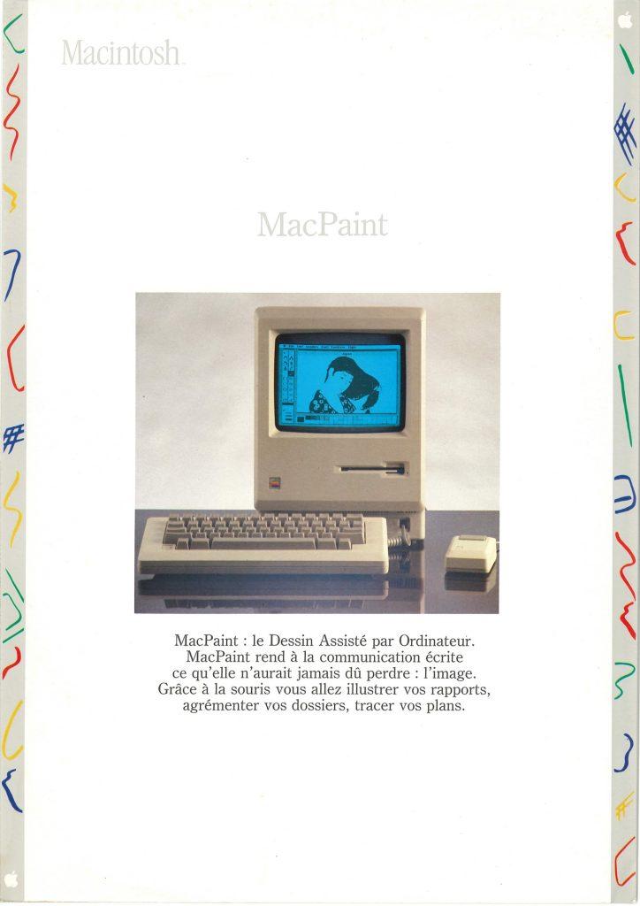 Brochure Macintosh SEEDRIN : MacPaint