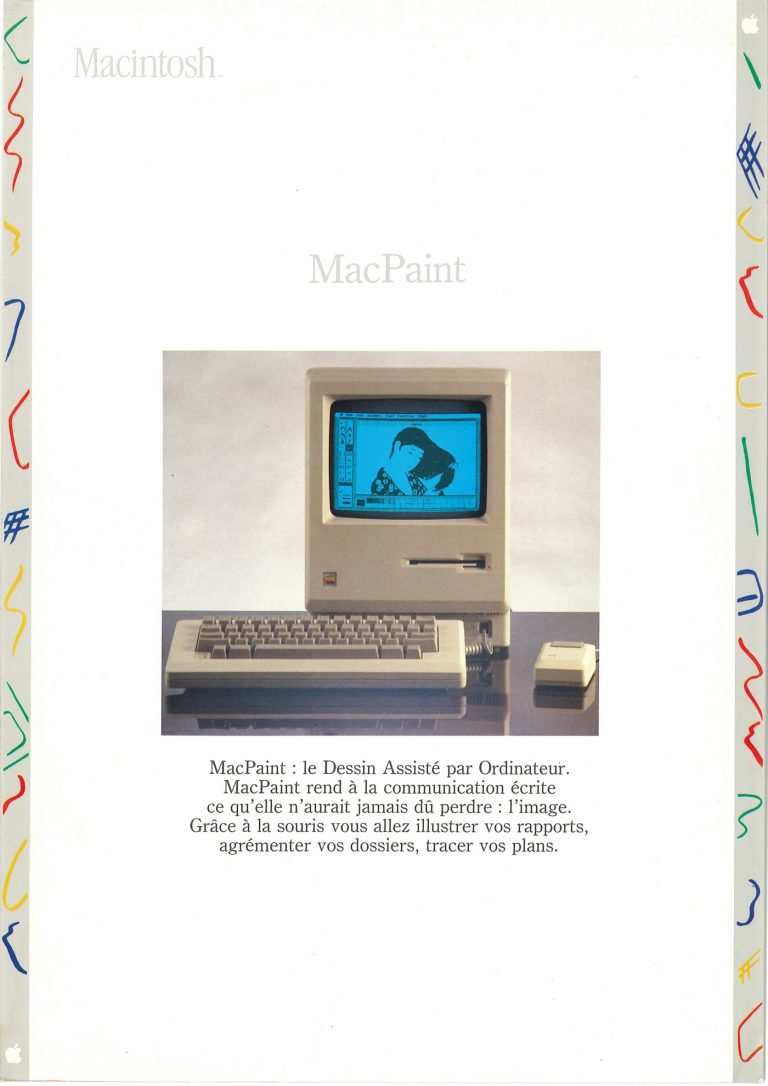 Brochure Macintosh SEEDRIN : MacPaint
