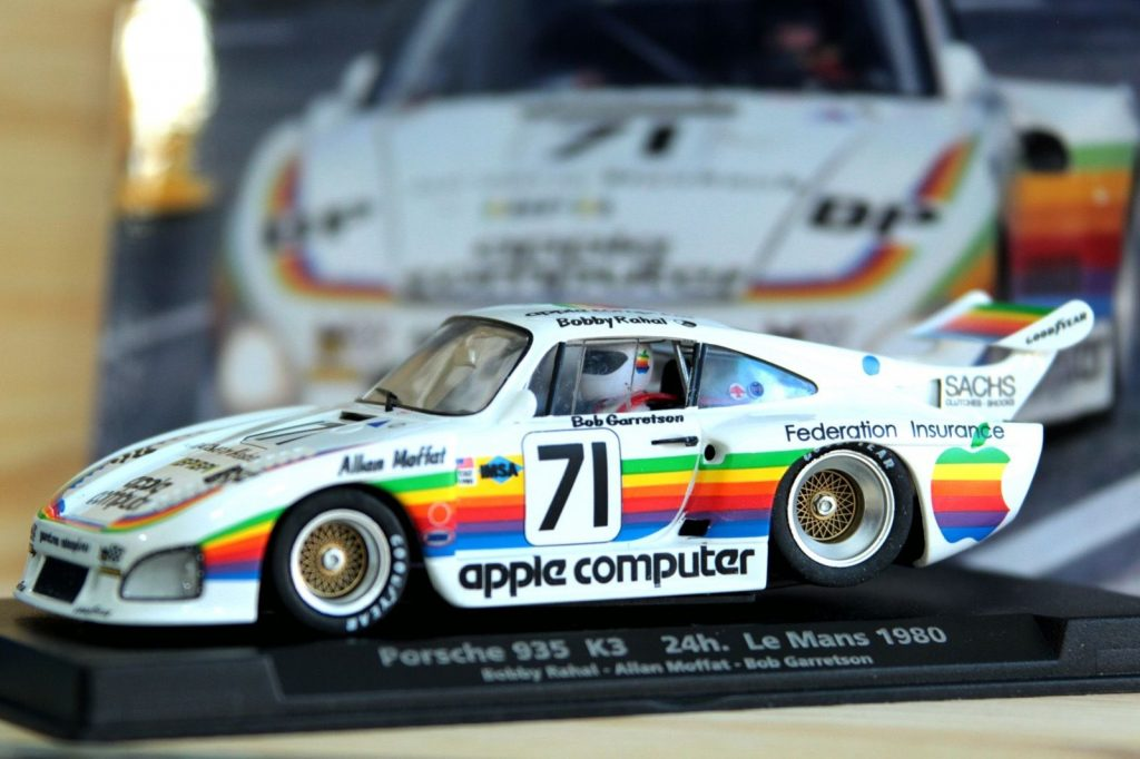Miniature de Porsche 935 d'Apple sur eBay