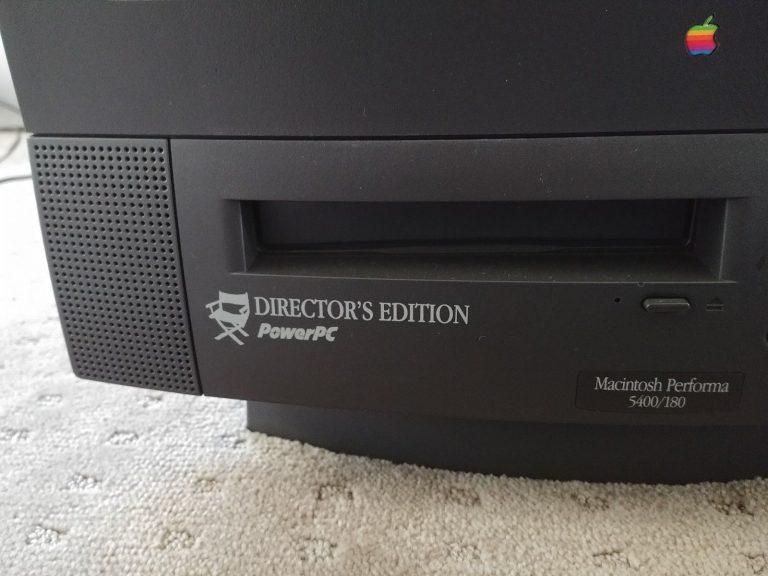 Macintosh Performa 5400/180 Director's Edition