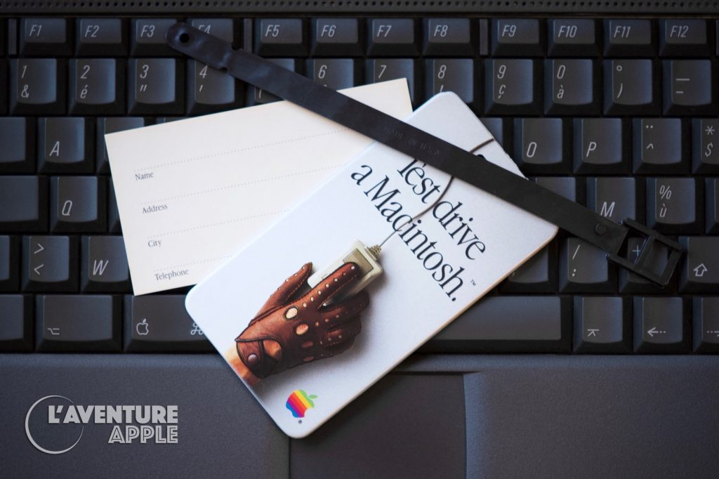 Test drive a Macintosh - Luggage tag