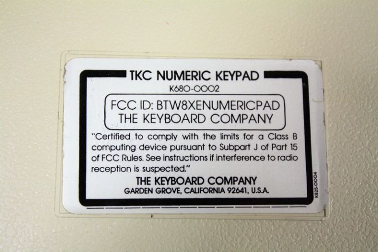 Apple II numeric Keypad par The Keyboard Company