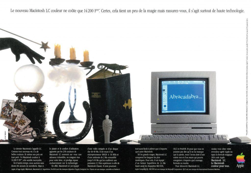 Apple Publicité 1990 pour le Macintosh LC - Abracadabra !