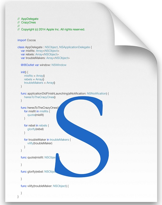 Swift file icon