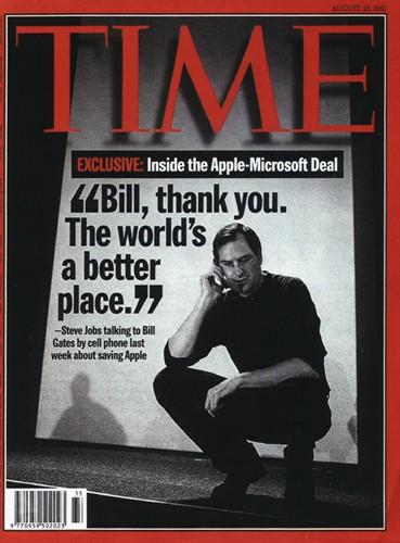 Couverture du Time :