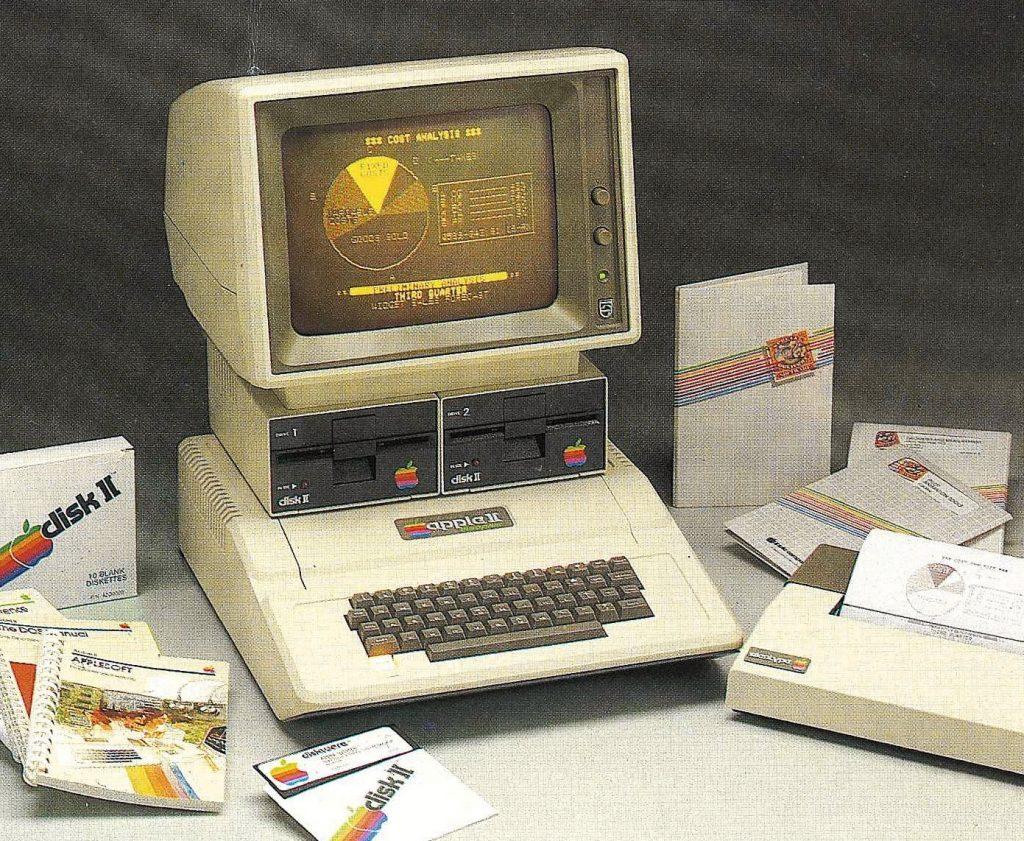 Apple II avec écran Philips Display