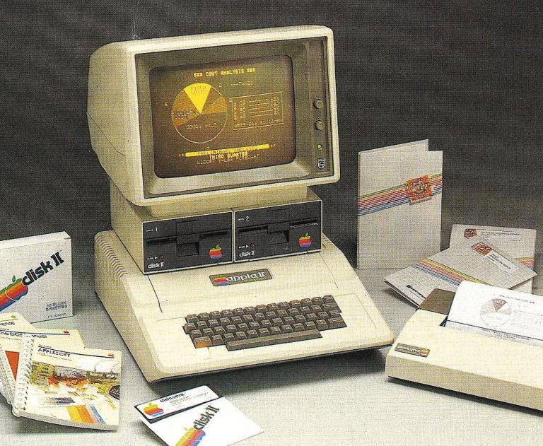 Apple II avec écran Philips Display