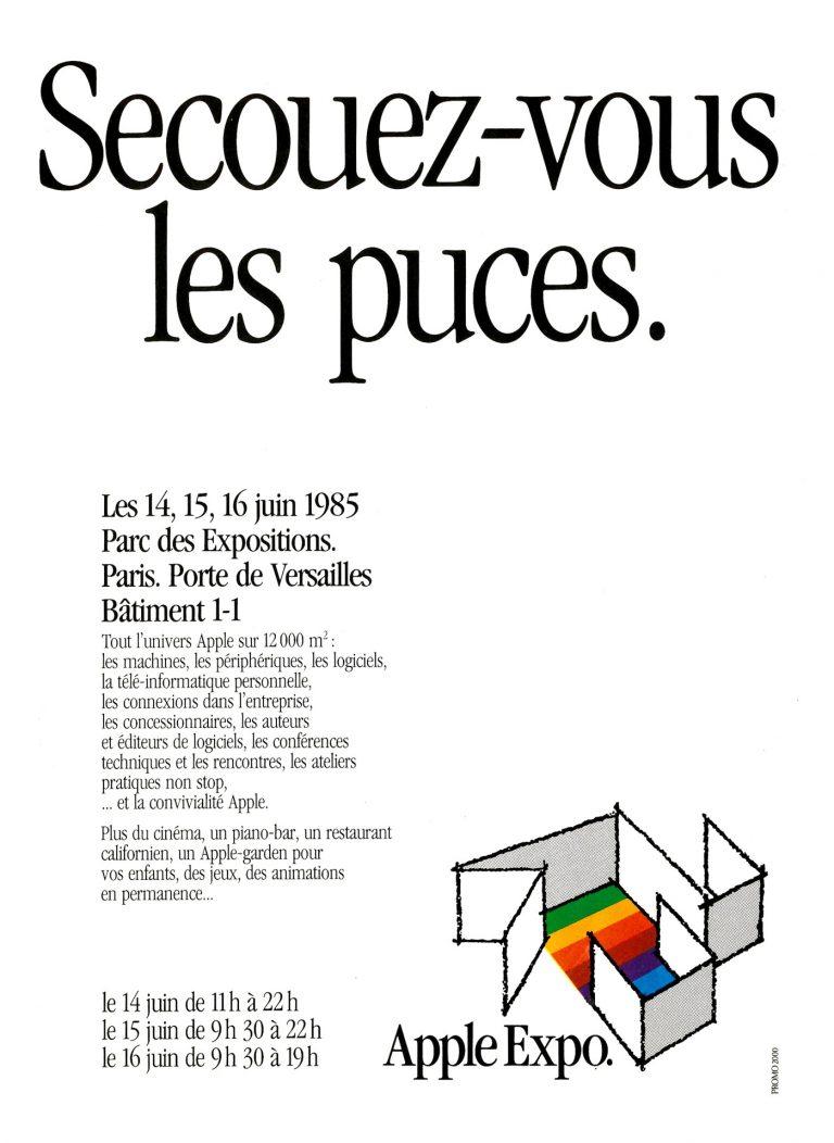 Apple Expo, publicité de 1985