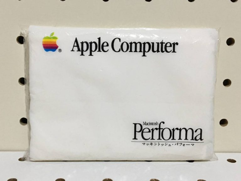 Paper tissues from Apple Japan