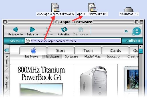 Microsoft Internet Explorer 5 pour Mac