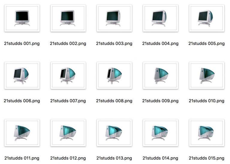 Suites d'images exportées par QuickTime 7 Pro, toujours opérationnel sous High Sierra !
